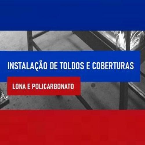 INSTALAÇÃO DE TOLDOS E COBERTURAS
